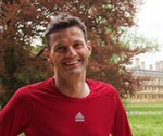 Mike Sewell, training for the Edinburgh Marathon